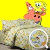Jual Sierra Bedcover dan Sprei 160x200 Spongebob Murah