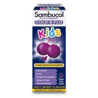 Sambucol Kids Cold n Flu Obat Pilek Anak Australia Original