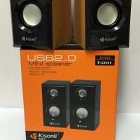Speaker 2.0 Usb For Laptop / Pc Kisonli T-001 Extra Bass