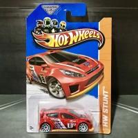 Hot Wheels Ford Fiesta Red Treasure Hunt