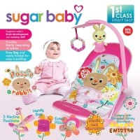 Jual Bouncer Bayi Sugar Baby Infant Seat with Toy Bar Rossie Rabbit kursi Murah