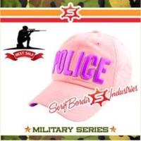 Jual Topi Baseball Import Police Pink Tentara Murah