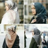 Tevazu scarf Kami Idea X Puteri hasanah bahan voal bukan ria miranda