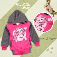 Jaket anak karakter My Little pony Pinky Pie size 8 - 10