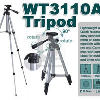 Jual  TERBAIK Tripod Weifeng Portable Aluminium Legs 4 Section WT3110A Murah