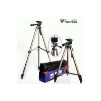 Jual Tripod Weifeng WT3130 Chocolate Portable Lightweight 4 Sections  Murah