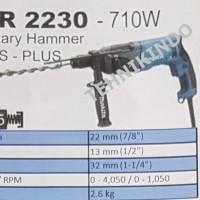 MESIN BOR ROTARY HAMMER MAKITA TYPE HR 2230