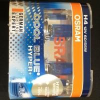 Jual Osram H4 Cool Blue Hyper Plus CBH  60/55W Lampu Halogen Mobil Putih Murah