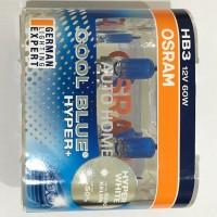 Jual Osram HB3 Cool Blue Hyper Plus CBH  60W Lampu Halogen Mobil Putih Murah