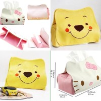 Jual tempat tisu tissue tisue karakter winnie the pooh mobil lucu Murah