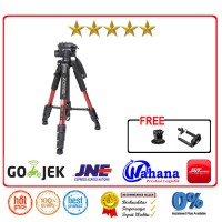 Zomei Q111 Camera Tripod For Canon Nikon Sony Gopro Xiaomi+Holder L