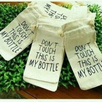 Jual Sarung My Bottle Kain Wadah Pouch Infused Water Wadah Botol Fashionebl Murah
