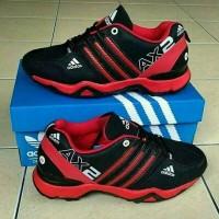 sepatu pria adidas x2 merah hitam