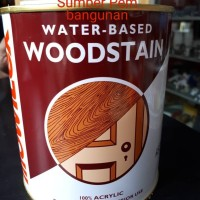 Woodstain Mowilex 1 L Liter Cat Plitur / Politur Kayu Clear