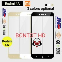 Tempered Glass 2.5D HQ Color Warna For Hp XIAOMI REDMI 4A / Prime Mi4A