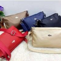 tas import murah lacoste sling bag
