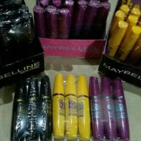 MASCARA MAYBELLINE MEGA PLUSH WATERPROOF