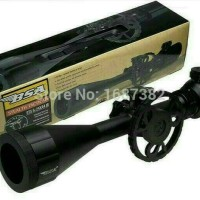 TELESCOPE BSA STEALTH TACTICAL STS 4 -16 X 44