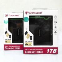 Jual Transcend Storejet 25M3 1TB Harddisk Portable USB 3.0 Antishock Murah