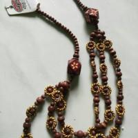 Harga kalung wanita dewasa model etnik asli agung bali ready | Pembandingharga.com