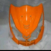 tameng depan honda beat fi orange