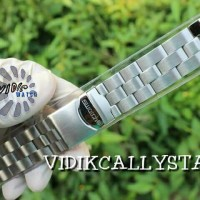 STRAP SWATCH 19MM 19 IRONY CHRONOGRAPH YCS 415 GX STAINLESS SILVER