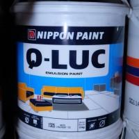 Q-LUC Nippon Paint 5kg cat tembok interior emulsi ekonomis