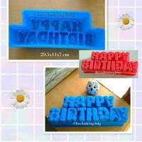 Jual Loyang Cetakan Pan Kue Cake Puding Happy Birthday Silikon Besar Murah