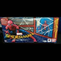 Shf Spiderman Homecoming Wall Set Bandai Original ori home coming