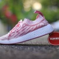 Sepatu Adidas NMD Pink For Women Barang Impor Premium Foto Real pict