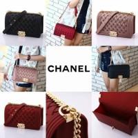 Chanel Boy Jello Bag