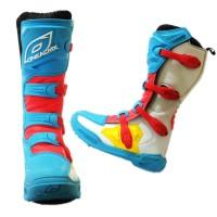 Sepatu Boots Cross Oneal MX ELEMENT IV Blue Red ORIGINAL / adventure/
