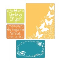* Butterfly Migration Set Emboss Folder - Plat Cetak Timbul