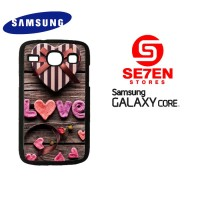 Casing Samsung Galaxy Core 1 Love Gift Custom Hardcase