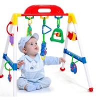 ORI A092 Baby musical play gym / musik mainan rattle bayi anak playgym