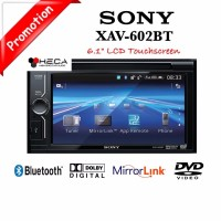 Sony XAV 602BT Head Unit Double din XAV 602 BT Tape Mobil Audio Mirr