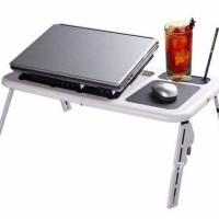 MEJA LAPTOP E TABLE STAND DESK FAN LT 810
