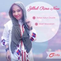 Jilbab Rina nose hoodie cantik pasmina hijab modern instant syari ...