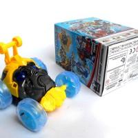 Mainan Anak RC REMOTE CONTROL MOBIL STUNT BUMBLEBEE TRANSFORMER