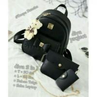tas wanita Backpack pita  mini