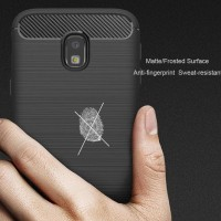CASING COVER HP SAMSUNG GALAXY J7 PRO J730 IPAKY CARBON FIBER SOFT