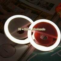 Jual RECHARGEABLE Selfie Light / Selfie Ring Light / Lampu Bigo /Charm eyes Murah