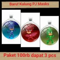 Jual New!! PJ Masks necklace / Kalung PJ Mask Murah