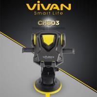 harga Car Holder Mobil Vivan Chs03 Telescopic Bracket Stand Handphone Hp Gps Tokopedia.com
