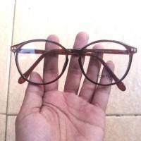 frame kacamata korea pria wanita free lensa
