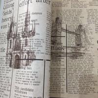 | grosir walpaper dinding murah Koran unik|53cm x10m