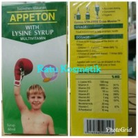 Promo Disc Vit Appeton Lysine Anak ( vit penambah Nafsu makan Anak)