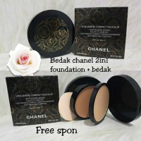 CHANEL BATIK - Bedak Channel 2in1 Two Way Powder : Compact+Foundation
