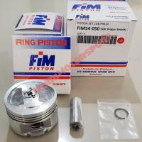 Piston Kit FIM Izumi FIM54 Suzuki Shogun 110 - 125 dan Smash