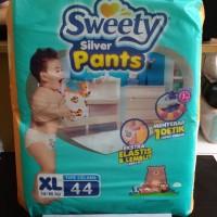 SWEETY FIT PANTS SILVER XL 44